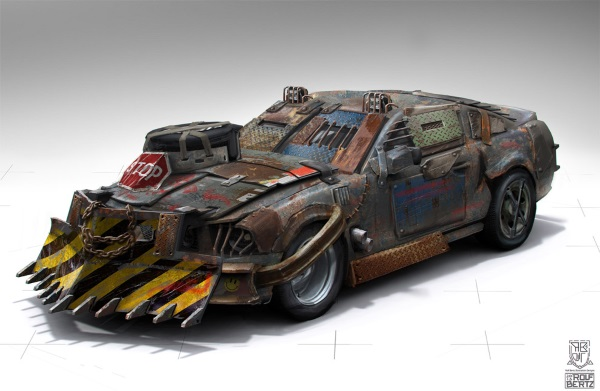 zombie apocalypse vehicle 1
